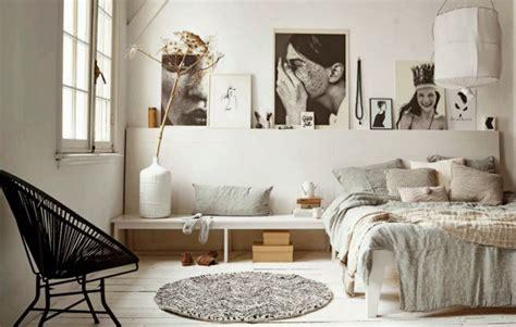 hippe meiden len jak urządzić sypialnię z r 243 żowymi i i miedzianymi dodatkami