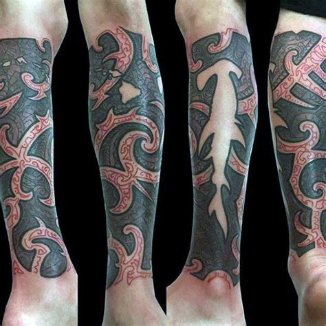 negative space tribal tattoos 50 tribal shark designs for sea dweller ideas