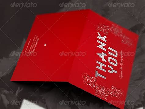 thank you card indesign template 20 thank you card template word psd ai and indesign