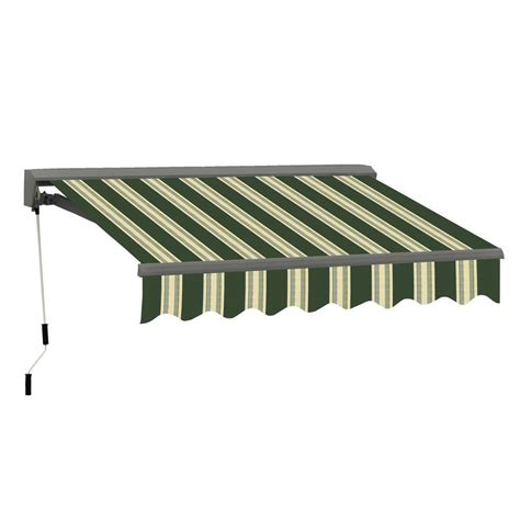 manual awnings advaning 10 ft classic c series semi cassette manual