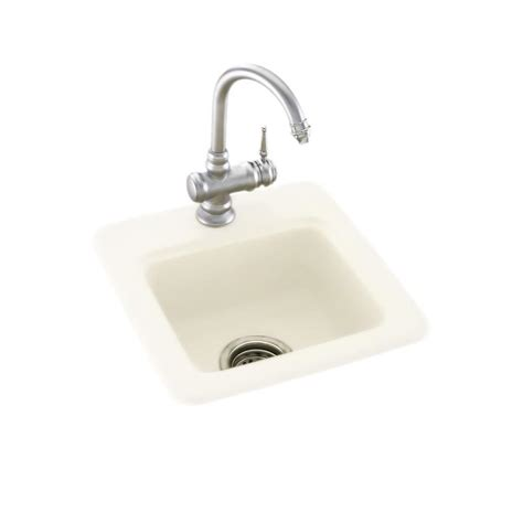 Solid Surface Undermount Sinks by Swan Drop In Undermount Solid Surface 15 In 1 Single