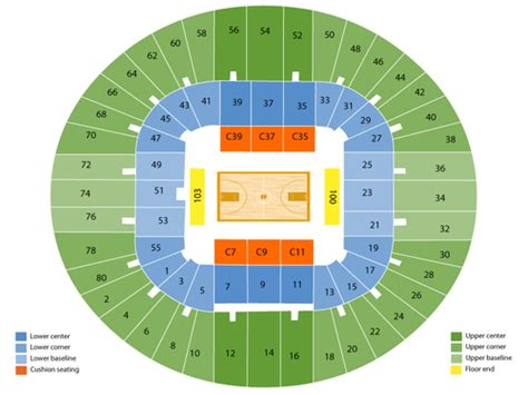 wvu seating chart wvu coliseum seating chart events in morgantown wv