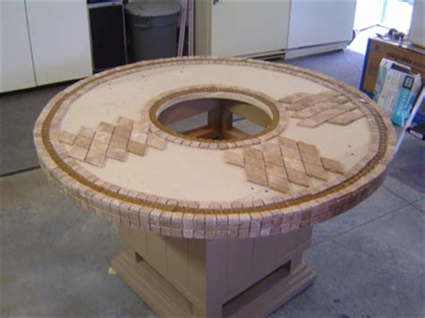make pit table how to make a wood table into an outdoor pit with