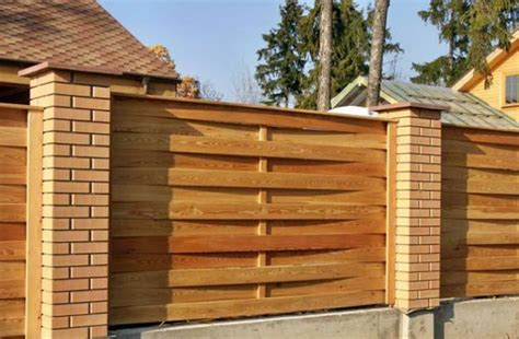 Cabin Designs wood fence designs diy