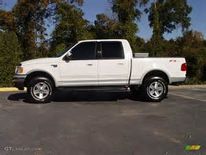 2003 Ford F150 Lariat 2003 Oxford White Ford F150 Lariat Fx4 Road Supercrew