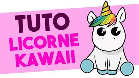Tuto Licorne Kawaii Dessin Youtube