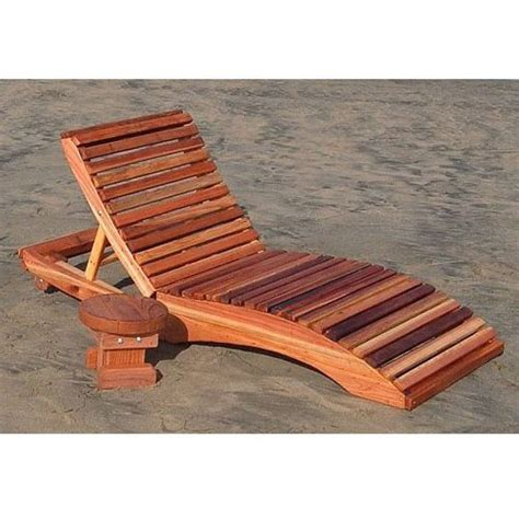 Single Chaise Lounge Chair by Redwood Outdoor S Single Chaise Lounge Chair