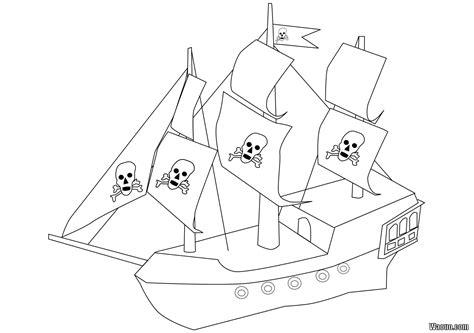 dessin bateau pirate imprimer coloriage bateau pirate 224 imprimer et colorier