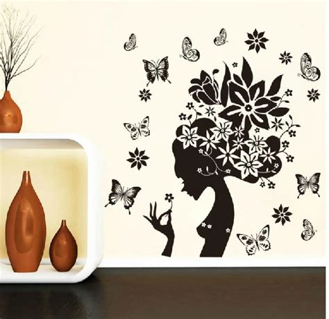 butterfly home decor 28 38 black flower butterfly home decor wall decals