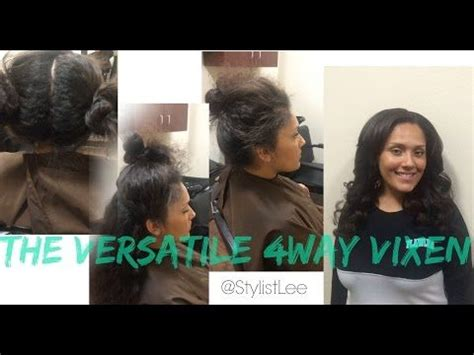 vixen sew ins in west bloomfield mi the 4way vixen sew in mixed chicks los angeles hair