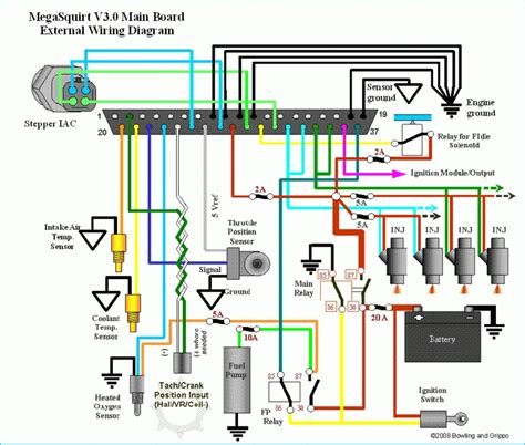 megasquirt wiring diagram fuse box and wiring diagram