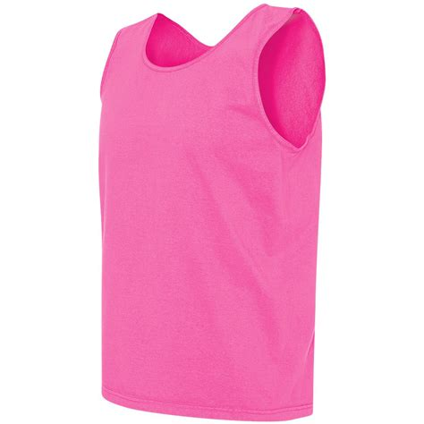comfort colors neon pink comfort colors 9360 garment dyed heavyweight ringspun tank