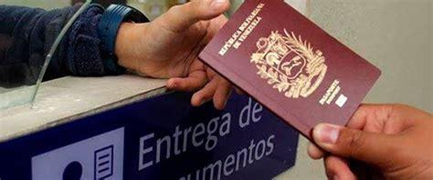 precio para sacra el pasaporte en venezuela este es el nuevo precio para el tr 225 mite del pasaporte