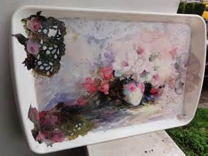 Decoupage Tray Ideas - gift ideas archives arts to crafts