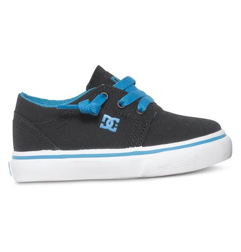 toddler dc shoes dcshoes toddler s trase tx low top shoes black turquoise