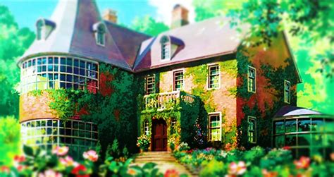 anime beautiful ghibli green house image 331221 on