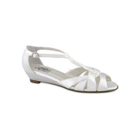 dyeable wedges wedding shoes wedges satin t wedge