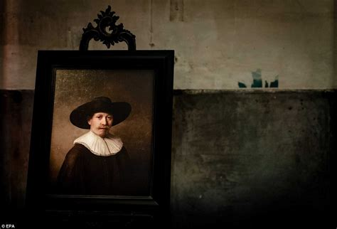 painting computer computer paints new rembrandt after analysing works