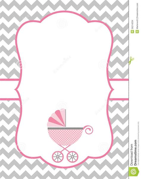 baby template baby shower invitation backgrounds theruntime
