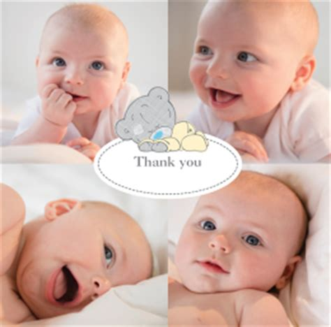 Baby Boy Thank You Cards With Photo