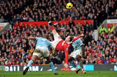 manchester united wayne rooney goal premier league s best ever strikers alan shearer thierry