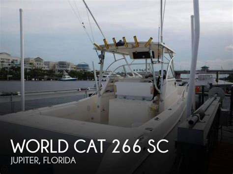world cat boats used world cat 266 sc in florida power catamarans used 81011