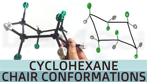 Cyclohexane Chair Conformation by Cyclohexane Chair Conformation And Axial Equatorial
