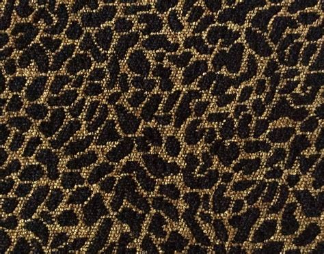 Cheetah Upholstery Fabric by Osrg115 Cheetah Leopard Animal Woven Chenille Heavy