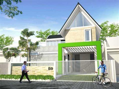desain atap rumah tipe 36 model desain tak depan rumah minimalis 2 lantai yang