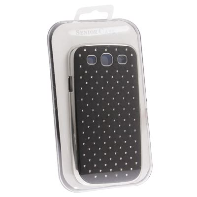 Luxury Bling Plating Skinning For Galaxy Siiii9300 Black luxury bling plating skinning plastic for