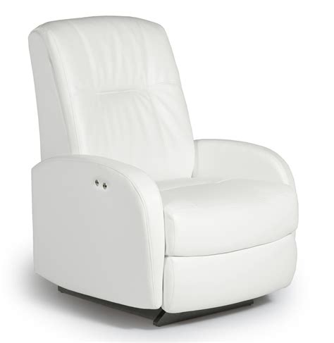 Black And White Recliner by Ruddick Power Rocker Recliner By Best Home Furnishings