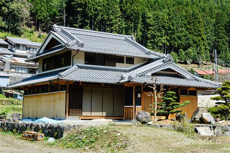 Japanese Style Apartment In America Harmony Of Wood Typical Japanese Country House In Forest