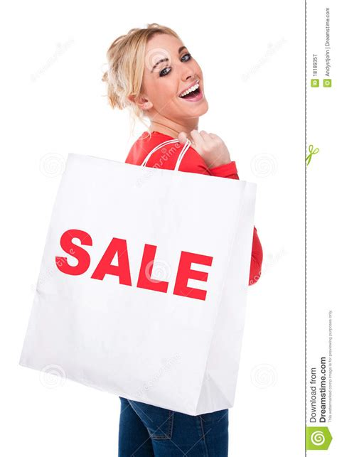 cheapest shops selling happiness for hair around pretoria beautiful young woman carrying sale shopping bag royalty