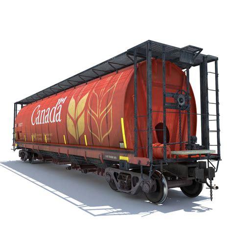 Auto Korn by 3d Model Railway Grain Car Cargo