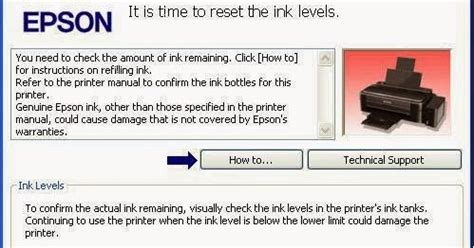 resetter epson l110 communication error reset printer epson l110 ink out error