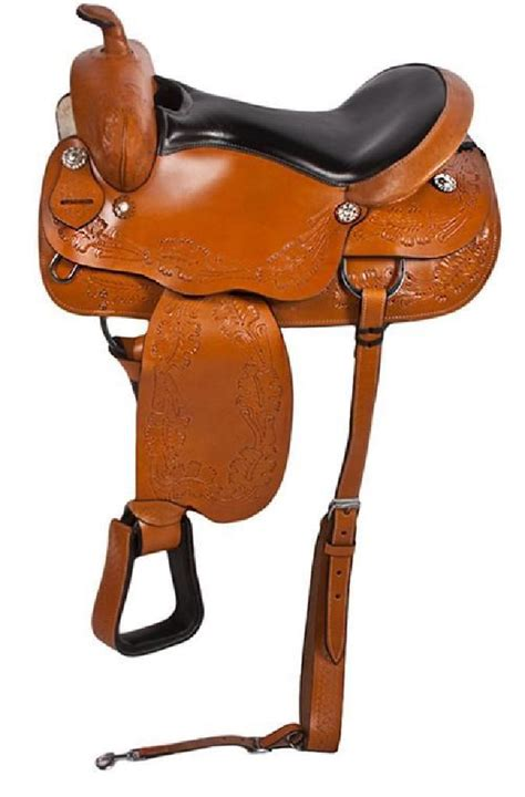 comfortable horse saddles new new leather comfortable pleasure trail horse saddle