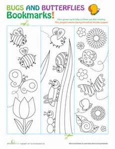 free printable nature bookmarks 17 best images about insects and nature on pinterest