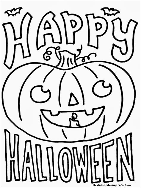 happy halloween coloring pages newhairstylesformen2014 com