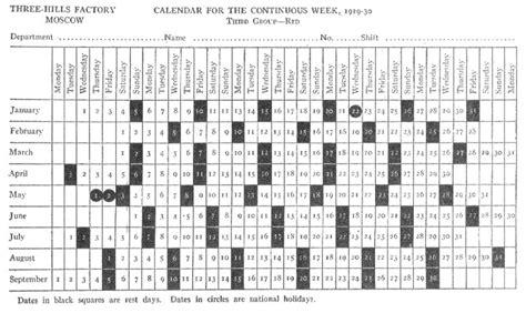 Calendario De 1929 File Soviet Calendar 1929 30 B W Jpg Wikimedia Commons