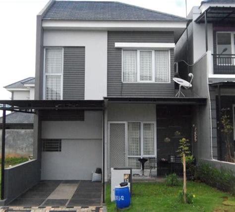 desain rumah minimalis  lantai type   syifa pinterest