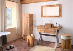 meubles de salle de bains suspendus bois collin arredo