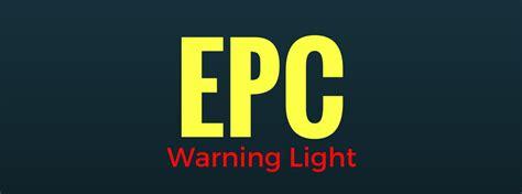 volkswagen epc warning light    means
