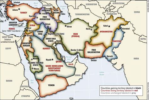 middle east map pre world war world war iii began in may 2006 building the new map of