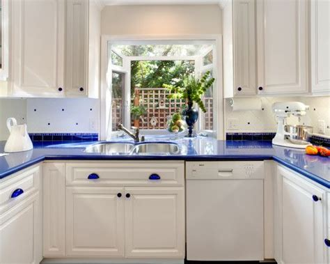 White And Blue Kitchen Cabinets The World S Catalog Of Ideas