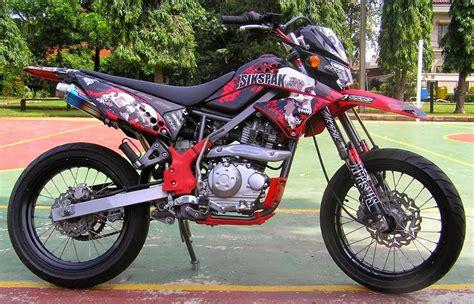 modifikasi kawasaki klx 150 kawasaki klx 150 2010 modif car interior design