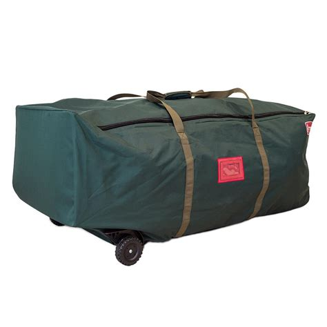 tree storage bag treekeeper big wheel no drag green duffel tk 10838 rs the home depot