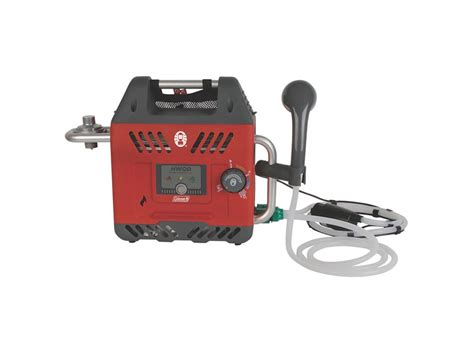 portable propane water heater coleman h2oasis portable propane hot water heater mpn
