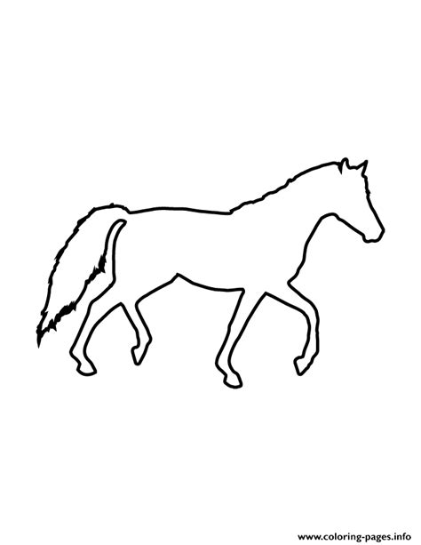 printable stencils of horses horse stencil 947 coloring pages printable