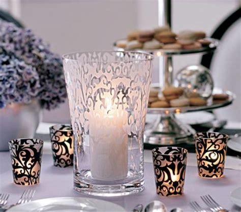 black and white wedding reception centerpieces celebrity