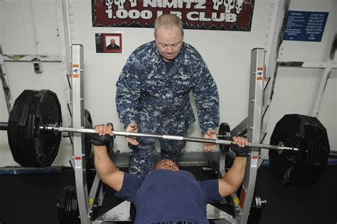 1000 pound bench dvids images uss nimitz 1 000 pound club image 5 of 5